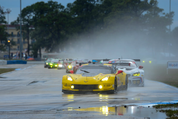 16-19 March, 2016, Sebring, Florida USA 4, Chevrolet, Corvette C7, GTLM, Oliver Gavin, Tommy Milner, Marcel Fassler ?2016, Richard Dole LAT Photo USA