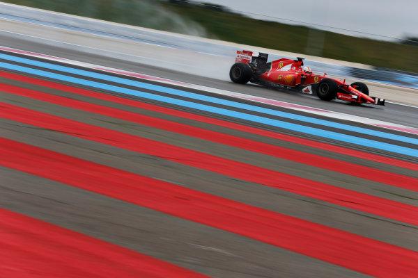 Paul Ricard, France. Tuesday 26 January 2016. Sebastian Vettel, Ferrari SF15-T. World Copyright: Steven Tee/LAT Photographic ref: Digital Image _X0W7980