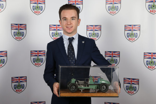 2015 British Racing Drivers Club Awards Grand Connaught Rooms, London Monday 7th December 2015 Charlie Robertson. World Copyright: Jakob Ebrey/LAT Photographic ref: Digital Image Robertson-01