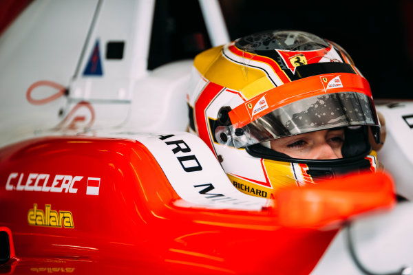 2016 GP3 Series Testing. Estoril, Portugal. Wednesday 23 March 2016. Charles Leclerc (MON) ART Grand Prix   World Copyright: Malcolm Griffiths/LAT Photographic. ref: Digital Image F80P2716