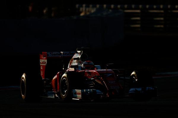Circuit de Catalunya, Barcelona, Spain Thursday 25 February 2016. Kimi Raikkonen, Ferrari SF16-H. World Copyright: Alastair Staley/LAT Photographic ref: Digital Image _79P4825
