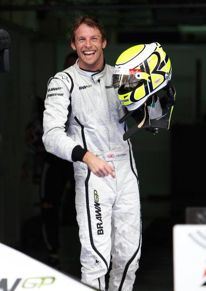 Sepang, Kuala Lumpur, Malaysia 4th April 2009 Jenson Button, Brawn GP BGP001 Mercedes. Portrait. Helmets.  World Copyright: Steve Etherington/LAT Photographic ref: Digital Image SNE13798