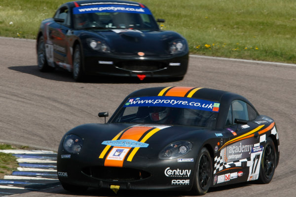 2013 Ginetta GT5 Challenge Rockingham, 5th and 6th May, 2013 Oli Basey Fisher World Copyright. Ebrey/LAT Photographic