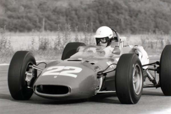1966 French Grand Prix.Reims, France. 3 July 1966.Michael Parkes, Ferrari 312, 2nd position, action.World Copyright: LAT Photographic