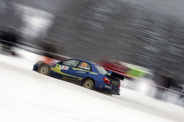 2007 FIA World Rally ChampionshipRound 3Rally of Norway 200715th - 18th February 2007Mads Ostberg, Subaru, ActionWorldwide Copyright: McKlein/LAT