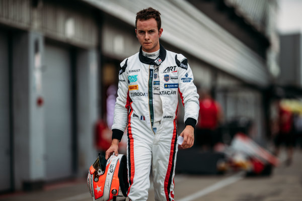 2017 GP3 Series Round 3.  Silverstone, Northamptonshire, UK. Thursday 13 July 2017. Anthoine Hubert (FRA, ART Grand Prix).  Photo: Malcolm Griffiths/GP3 Series Media Service. ref: Digital Image MALC3891