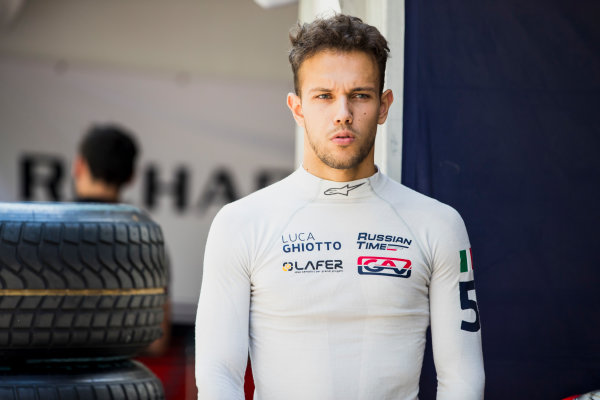 2017 FIA Formula 2 Round 4. Baku City Circuit, Baku, Azerbaijan. Friday 23 June 2017. Luca Ghiotto (ITA, RUSSIAN TIME)  Photo: Zak Mauger/FIA Formula 2. ref: Digital Image _56I6532
