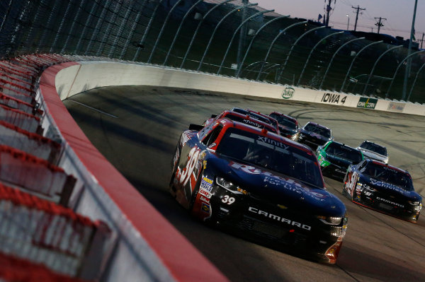 NASCAR XFINITY Series American Ethanol E15 250 presented by Enogen Iowa Speedway, Newton, IA USA Saturday 24 June 2017 Ryan Sieg, Hess Ornamental Iron Chevrolet Camaro World Copyright: Brett Moist LAT Images