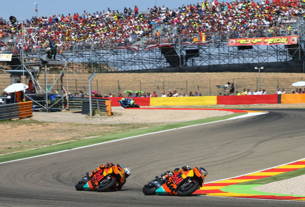 2017 MotoGP Championship - Round 14 Aragon, Spain. Saturday 1 January 2000 Mika Kallio, Red Bull KTM Factory Racing  World Copyright: Gold and Goose / LAT Images ref: Digital Image 14171