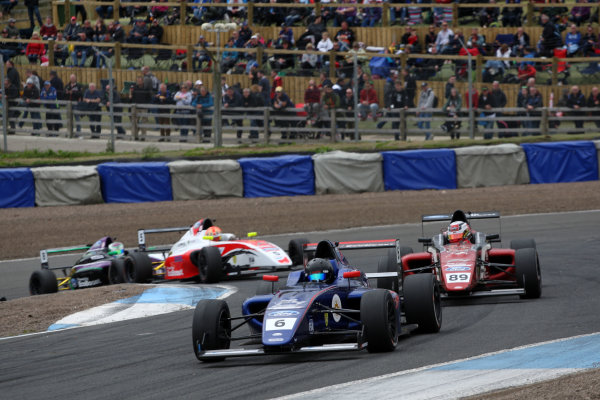 2017 British F4 Championship, Knockhill, 12th-13th August 2017, Lucas Alecco Roy (GER) Carlin British F4  World copyright. JEP/LAT Images