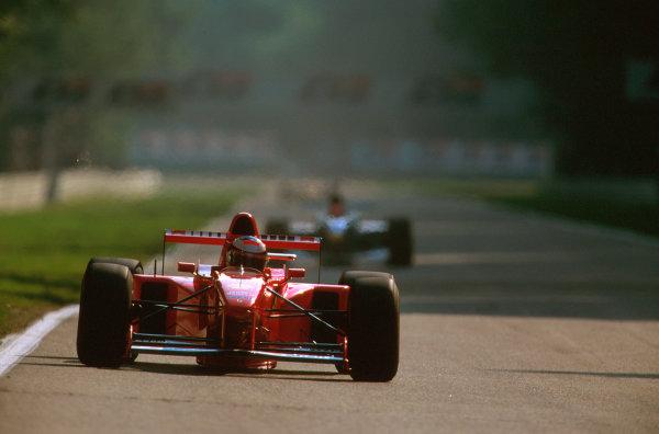 Hockenheim, Germany.25-27 July 1997.Michael Schumacher (Ferrari F310B) 2nd position.Ref-97 GER 14.World Copyright - LAT Photographic