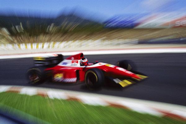 Gerhard Berger, Ferrari F93A.
