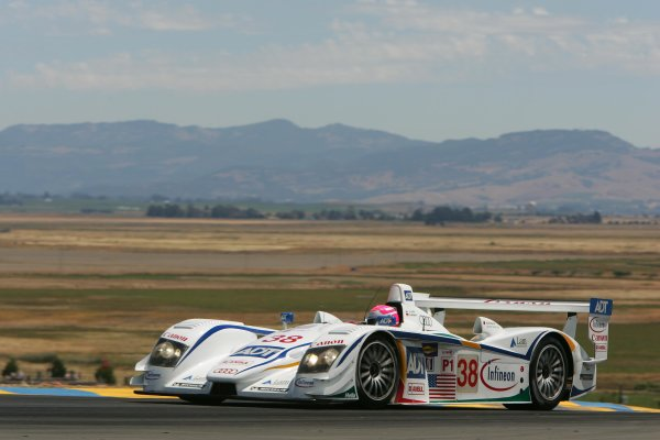 2004 American Le Mans Series (ALMS)Infineon Grand Prix of Sonoma, Sears Point. 16th - 18th July. Champion wins Infineon ALMS race.World Copyright: Richard Dole/LAT Photographicref: Digital Image Only