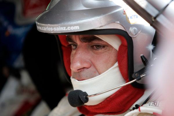 2004 FIA World Rally Champs. Round thirteen, Rally Italia Sardinia.30th September - 3rd October 2004.Carlos Sainz, Citroen, portrait.World Copyright: McKlein/LAT