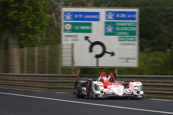 2014 FIA World Endurance Championship, LeMans, France. Test Day 1st June 2014. V. CAPILLAIRE / R. RAST / J. CHAROUZ / L. VANTHOOR Oreca 03 - Nissan World Copyright: Ebrey/LAT Photographic