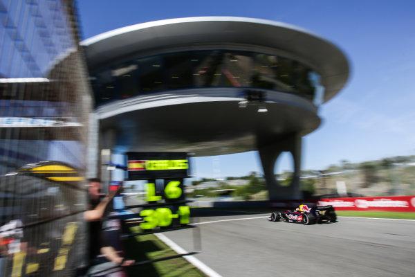 JEREZ (ESP) MAR 24-26 2014 - World Series by Renault 2014 at Circuito permanente de Jerez. Carlos Sainz jr. #1 Dams. Action. © 2014 Sebastiaan Rozendaal / Dutch Photo Agency / LAT Photographic