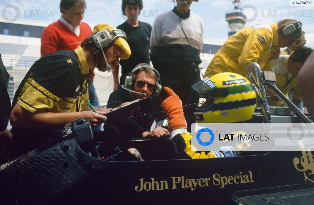 1986 Spanish Grand Prix.