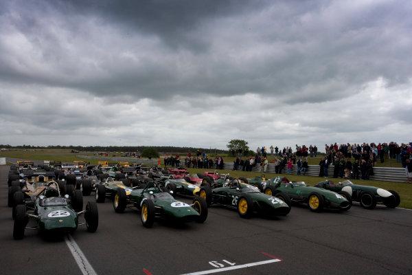 Snetterton, Norfolk. UK. 20th June 2010.Historic Team Lotus F1 Cars. World Copyright: Alastair Staley/LAT PhotographicDigital Image _P9O9388 jpg