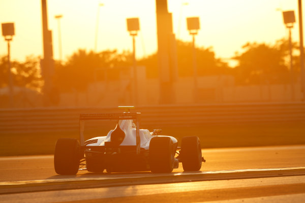 2014 GP3 Series Test 3.   Yas Marina Circuit, Abu Dhabi, United Arab Emirates. Saturday 29 November 2014. Alex Palou (ESP, Trident)  Photo: Sam Bloxham/GP3 Series Media Service. ref: Digital Image _14P2993