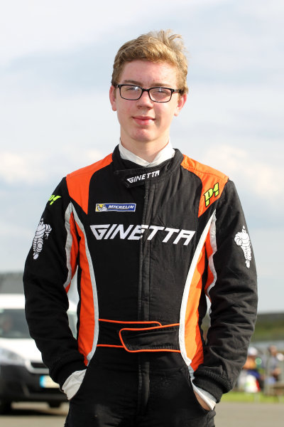 2017 Ginetta Junior Chamionship, Rockingham, 27th-28th August 2017, Louis Foster (GBR)  World copyright. JEP/LAT Images