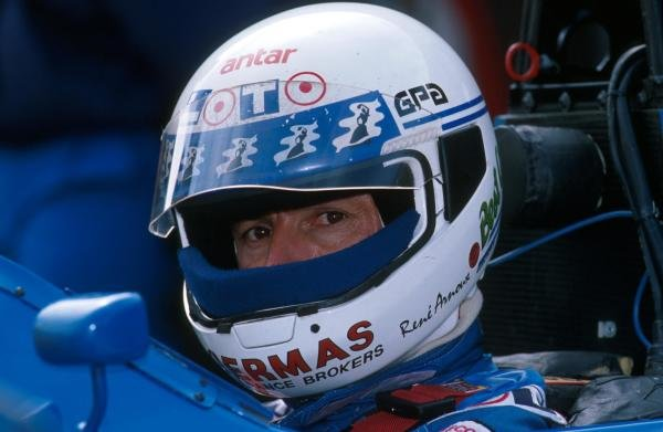 Rene Arnoux (FRA) Ligier JS33Formula One World Championship, 1989