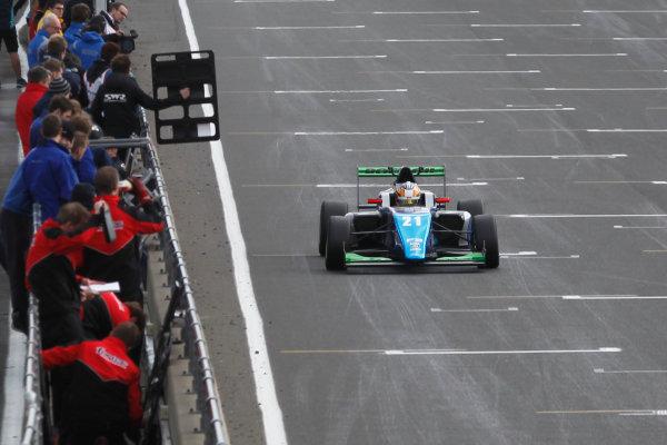 2016 BRDC British Formula 3 Championship, Snetterton, Norfolk. 27th - 28th March 2016. Jan Jonck (DEN) Sean Walkinshaw Racing BRDC F3. World Copyright: Ebrey / LAT Photographic.