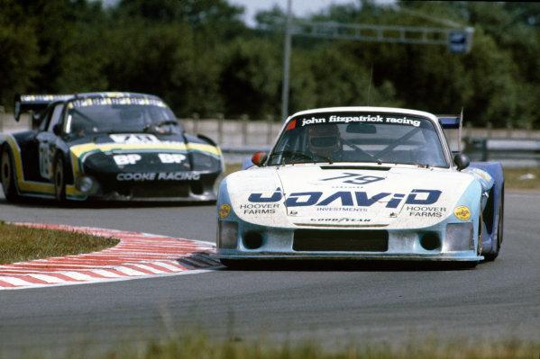 Le Mans, France. 19-20 June 1982.John Fitzpatrick/David Hobbs (Porsche 935/81), 4th position, action. World Copyright: LAT Photographic.Ref:  82LM06