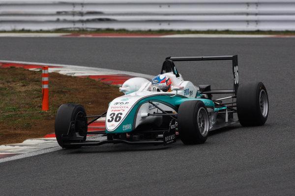 Fuji, Japan. 5th April 2009.Rd1 - Winner Takuto Iguchi ( #36 PETRONAS TOM'S F308 ) action.World Copyright: Yasushi Ishihara/LAT Photographicref: 2009JF3_R1_002