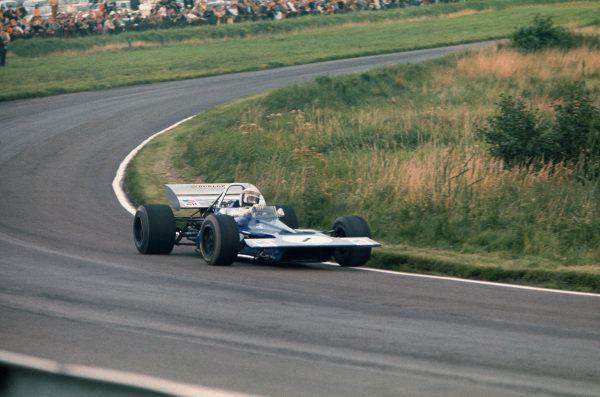 1970 International Gold Cup.  Oulton Park, Cheshire, England. 22nd August 1970.  Jackie Stewart, Tyrrell 001 Ford.  Ref: 70GC07. World Copyright: LAT Photographic