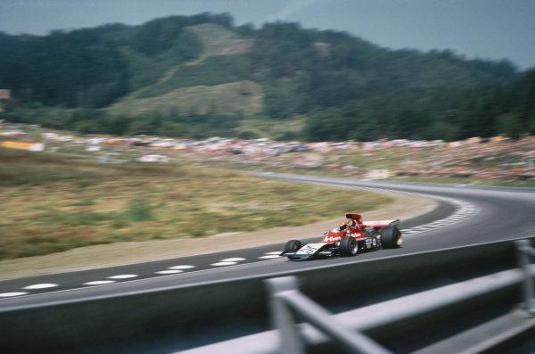 1973 Austrian Grand Prix.  Osterreichring, Austria. 17-19th August 1973.  Gijs van Lennep, Williams IR01 Ford.  Ref: 73AUT40. World Copyright: LAT Photographic