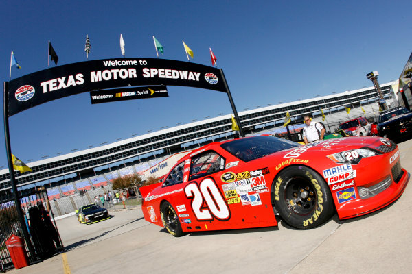 1-4 November, 2012, Fort Worth, Texas USA Joey Logano, The Home Depot Toyota Camry.(c)2012, LAT South LAT Photo USA