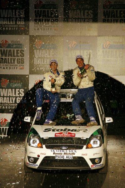 2006 British Rally Championship.Wales Rally GB. 1st-3rd December 2006.Barry Clark,World Copyright: Ebrey/LAT Photographic.
