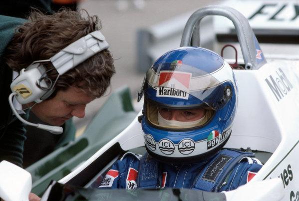 1982 Dutch Grand PrixZandvoort, Holland1-3rd July 1982. Ref: 82HOL32. World Copyright: LAT Photographic.