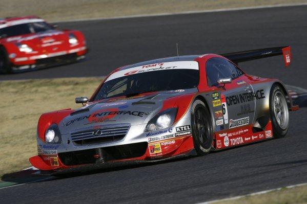 2006 Japanese Super GT ChampionshipSuzuka, Japan. 19th March 2006GT500 winners - Juichi Wakisaka/Andre Lotterer (Opel Inerface SC430) 1st position. Action.World Copyright: Yasushi Ishihara/LAT Photographicref: Digital Image2006SGT_R1_003 JPG(2 3MB)