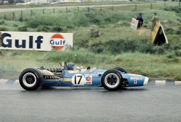 1968 Dutch Grand Prix.Zandvoort, Holland.21-23 June 1968.Jean-Pierre Beltoise (Matra MS11 Ford) 2nd position.Ref-68 HOL 03.World Copyright - LAT Photographic
