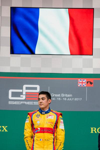 2017 GP3 Series Round 3.  Silverstone, Northamptonshire, UK. Sunday 16 July 2017. Giuliano Alesi (FRA, Trident).  Photo: Zak Mauger/GP3 Series Media Service. ref: Digital Image _56I0175