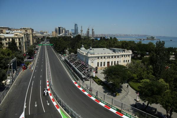 Baku City Circuit, Baku, Azerbaijan. Friday 23 June 2017. Lance Stroll, Williams FW40 Mercedes. World Copyright: Charles Coates/LAT Images ref: Digital Image AX0W5074