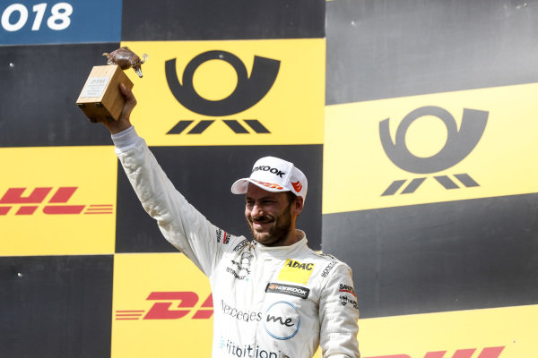 Podium: Third place Gary Paffett, Mercedes-AMG Team HWA.