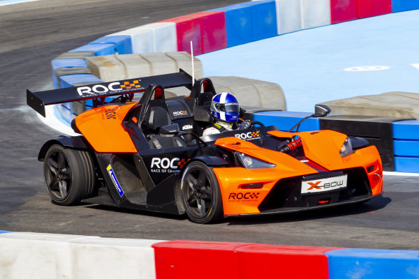 David Coulthard (GBR) driving the KTM X-Bow Comp R