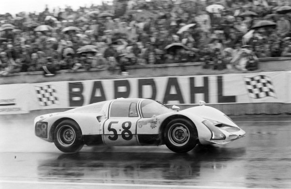 Günther Klass / Rolf Stommelen, Porsche System Engineering, Porsche 906/6 Carrera 6.