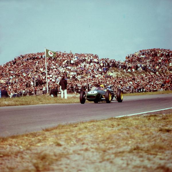 1961 Dutch Grand Prix.Zandvoort, Holland.20-22 May 1961.Trevor Taylor (Lotus 18 Climax).Ref-3/0278.World Copyright - LAT Photographic