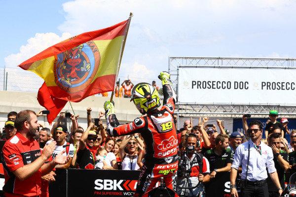 Alvaro Bautista, Aruba.it Racing-Ducati Team.