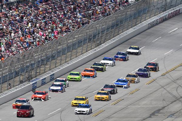 Ford Mustang Mach-E Pace Car. #17: Chris Buescher, Roush Fenway Racing, Ford Mustang Fastenal