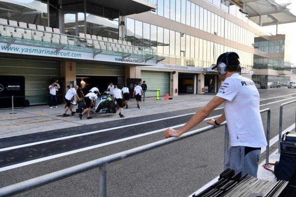 Esteban Ocon, Mercedes-AMG F1 Test and Reserve Driver