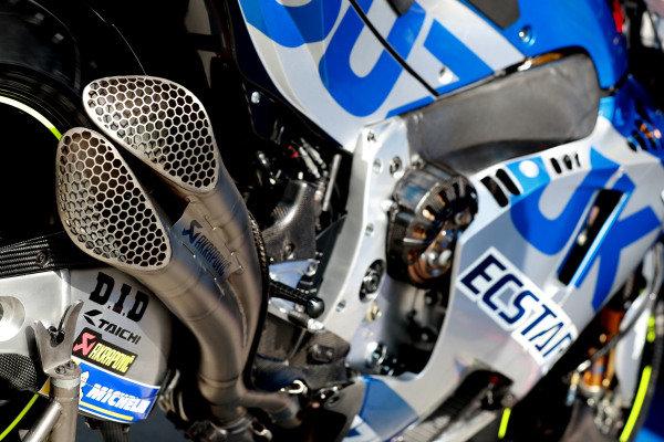 Team Suzuki MotoGP, bike detail.