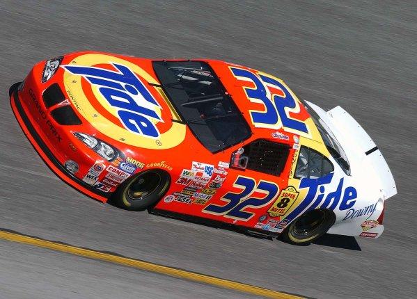 2003 NASCAR Winston Cup Daytona practice,11 Feb. 2003single car file images-Ricky Craven-World Copyright -Robt LeSieur 2003LAT Photographic-ref: digital image