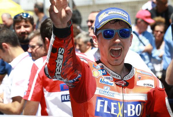 2017 MotoGP Championship - Round 4 Jerez, Spain Sunday 7 May 2017 Jorge Lorenzo, Ducati Team World Copyright: Gold & Goose Photography/LAT Images ref: Digital Image 16112