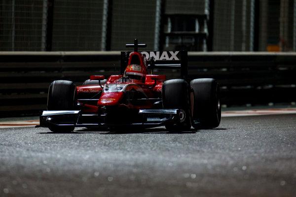 2016 GP2 Series Test 3 Yas Marina Circuit, Abu Dhabi, United Arab Emirates. Friday 2 December 2016. Luca Ghiotto (ITA, Arden International)  Photo: Zak Mauger/GP2 Series Media Service. ref: Digital Image _L0U4769