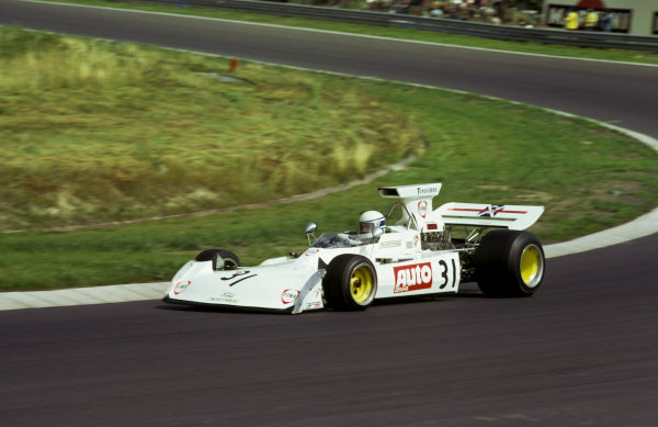 Jochen Mass (GER) Surtees TS14A finished an impressive seventh on his first official GP start, following his involvement in the huge crash at the beginning of the British GP that meant he did not take the restart.German Grand Prix, Nurburgring, 5 August 1973.BEST IMAGE