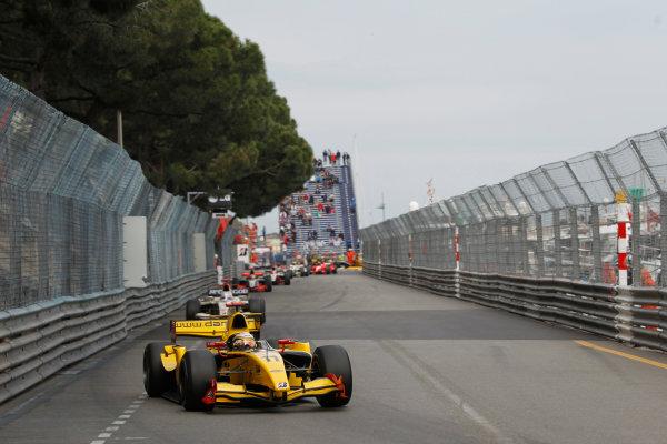 Monte Carlo, Monaco. 15th May 2010. Saturday Race.Jerome D'Ambrosio (BEL, Dams) leads the field. Action. Photo: Andrew Ferraro/GP2 Media Service.Ref: _Q0C7478 jpg